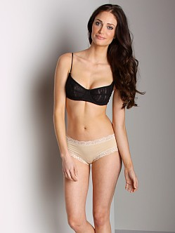 Free People Underwire Lace Bra Black