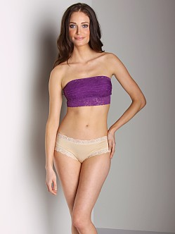 Free People Lace Bandeau Violet
