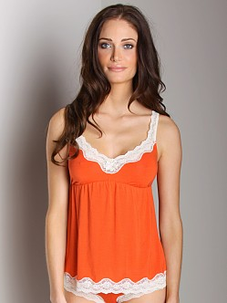 Eberjey Lady Godiva Camisole Burnt Orange
