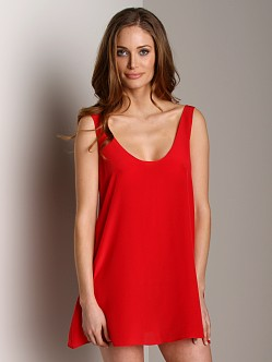 Zinke Sai Dress Red