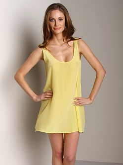 Zinke Sai Dress Yellow