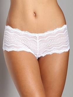 Cosabella Ceylon Low Rise Hot Pants White