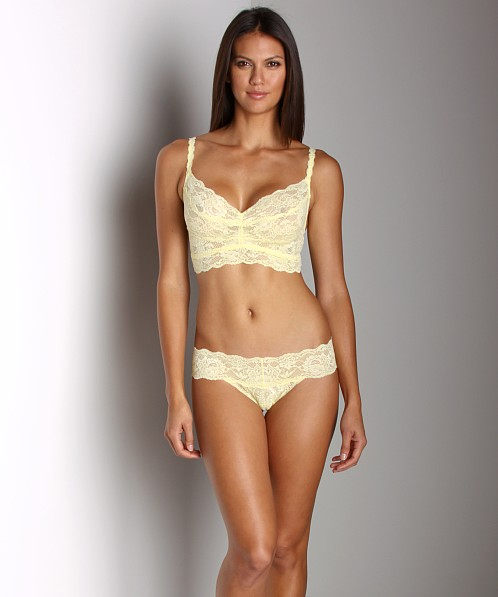 Cosabella Never Say Never Cutie Thong Citron