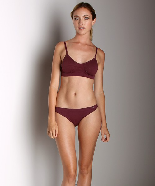 Miel Sisters Wireless Soft Bra Deep Plum