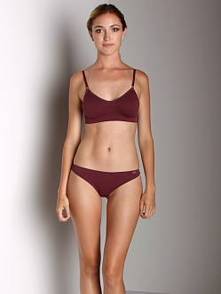 Miel Thong Deep Plum