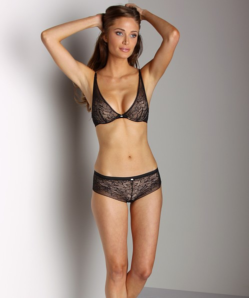 Calvin Klein Naked Glamour Lace Hipster Black
