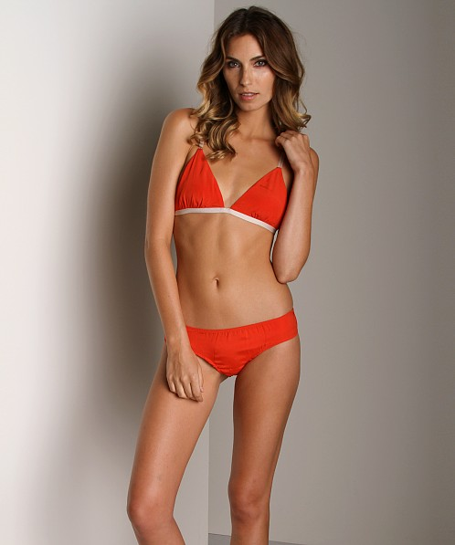 Zinke Scout Reversible Bralette Orange/Orchid