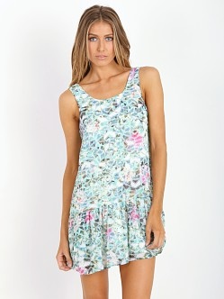 Lovers + Friends Barbados Babydoll Dress Island Hop
