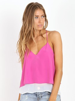 Lovers + Friends Poppy Cami Peony Pink