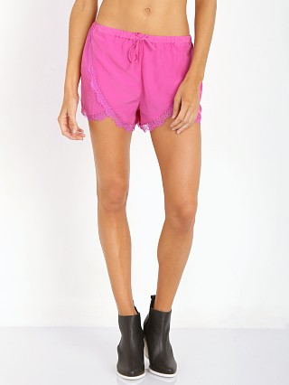 Complete the look: Lovers + Friends Young Romance Shorts Peony Pink