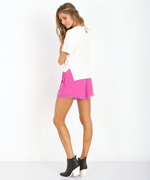 Lovers + Friends Young Romance Shorts Peony Pink