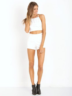 Lovers + Friends Fashionista Short Ivory Aztec