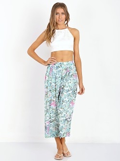 Lovers + Friends Cannes Gaucho Pants Island Hop