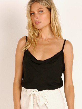Indah Ziggy Cowl Neck Cami Black
