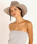 Janessa Leone Cooper Packable Hat Grey, view 3