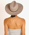 Janessa Leone Cooper Packable Hat Grey, view 4