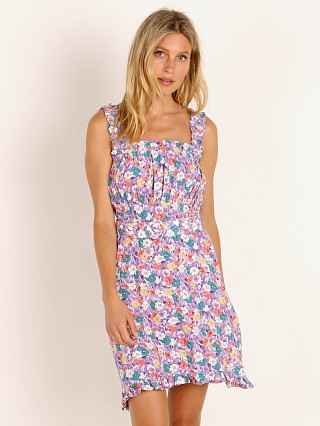Faithfull the Brand Mid Summer Mini Dress Nefeli Floral