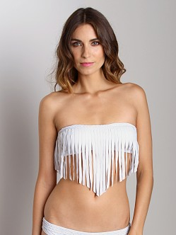 Boys + Arrows Henriette The Hippie Bikini Top Timberwolf