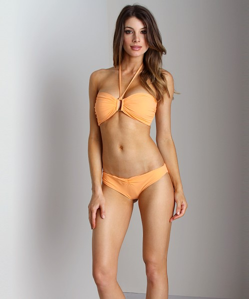 077c302115a61 Boys + Arrows Olivia The Outlaw Bikini Top Tangerine T015 - Free Shipping  at Largo Drive