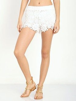 Nightcap Carribean Crochet Short White