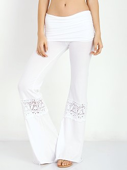 Nightcap Crochet Beach Pant White