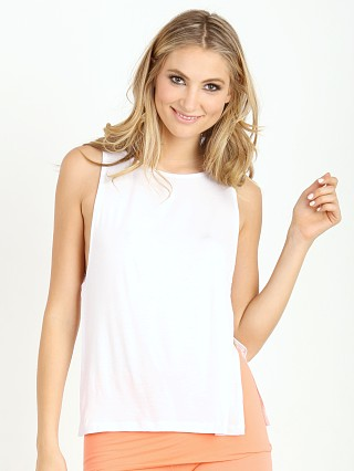 Nightcap Side Knit Tank White
