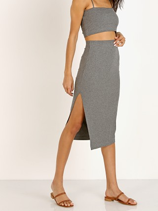 Complete the look: Stillwater The Rib Edit Skirt Charcoal