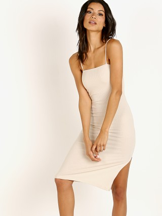 Stillwater The Heart Throb Rib Tank Dress Sand