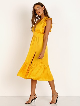 Model in sunshine Stillwater The Jessie Midi