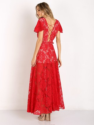 The Jetset Diaries Piazza Maxi Ruby