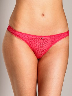 Elle Macpherson Intimates Dream Catcher Thong Pink