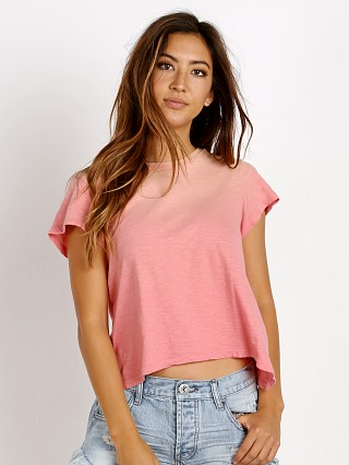 LNA Clothing Raze Tee Strawberry Potassium