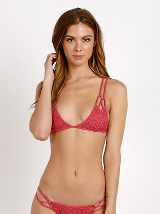 Complete the look: Acacia KEKAHA Crochet Bikini Top Lychee
