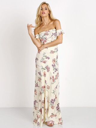 Flynn Skye Bella Maxi Dress Cream Botanical