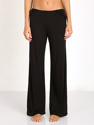 Model in black Only Hearts Venice Pants