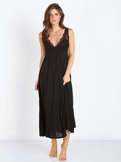 Only Hearts Venice Chemise Gown Black