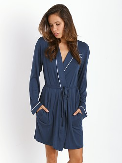 WILDFOX Never Get Dressed Robe Loved Navy