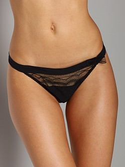 Huit Love In Shanghai Magic Thong Black