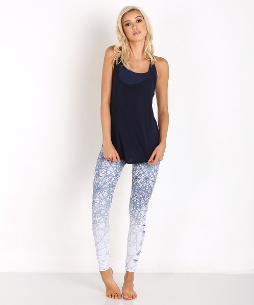 Onzie Glossy Flow Tank (Navy)-Navy-One Size Cheap Sale Finishline Cheapest Price Cheap Online Free Shipping Fashionable Top Quality Footaction For Sale cZzCnGA