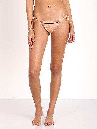For Love & Lemons Castaway Little String Bottom Nude
