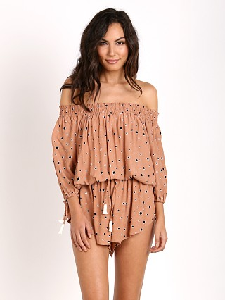 Faithfull the Brand Cosmos Playsuit Desert Print
