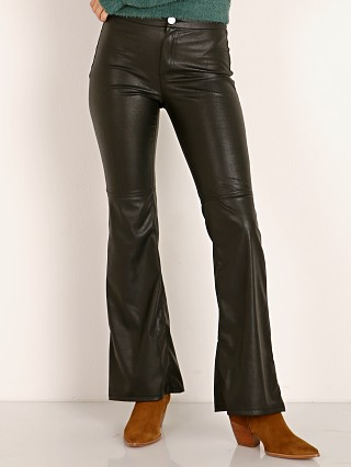 Show Me Your Mumu Tyson Pants Faux Leather Black
