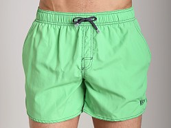 Hugo Boss Lobster Swim Shorts Bright Green