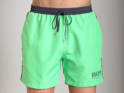 Hugo Boss Starfish Swim Shorts Bright Green