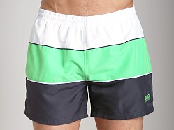 Hugo Boss Pilotfish Swim Shorts Charcoal