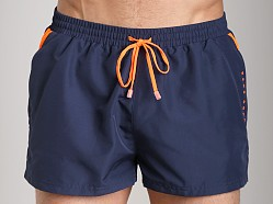 Hugo Boss Mooneye Swim Shorts Navy