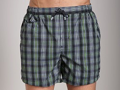Hugo Boss Crocodile Shark Swim Shorts Charcoal