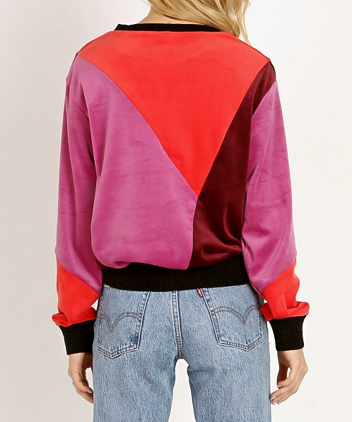 Splendid X Missoni: Splendid X Margherita Missoni Velluto Pullover Sweater