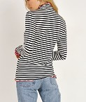 Splendid X Margherita Missoni Dolce Vita Rib Turtleneck Stripe, view 4