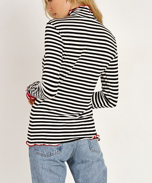 Splendid X Margherita Missoni Dolce Vita Rib Turtleneck Stripe